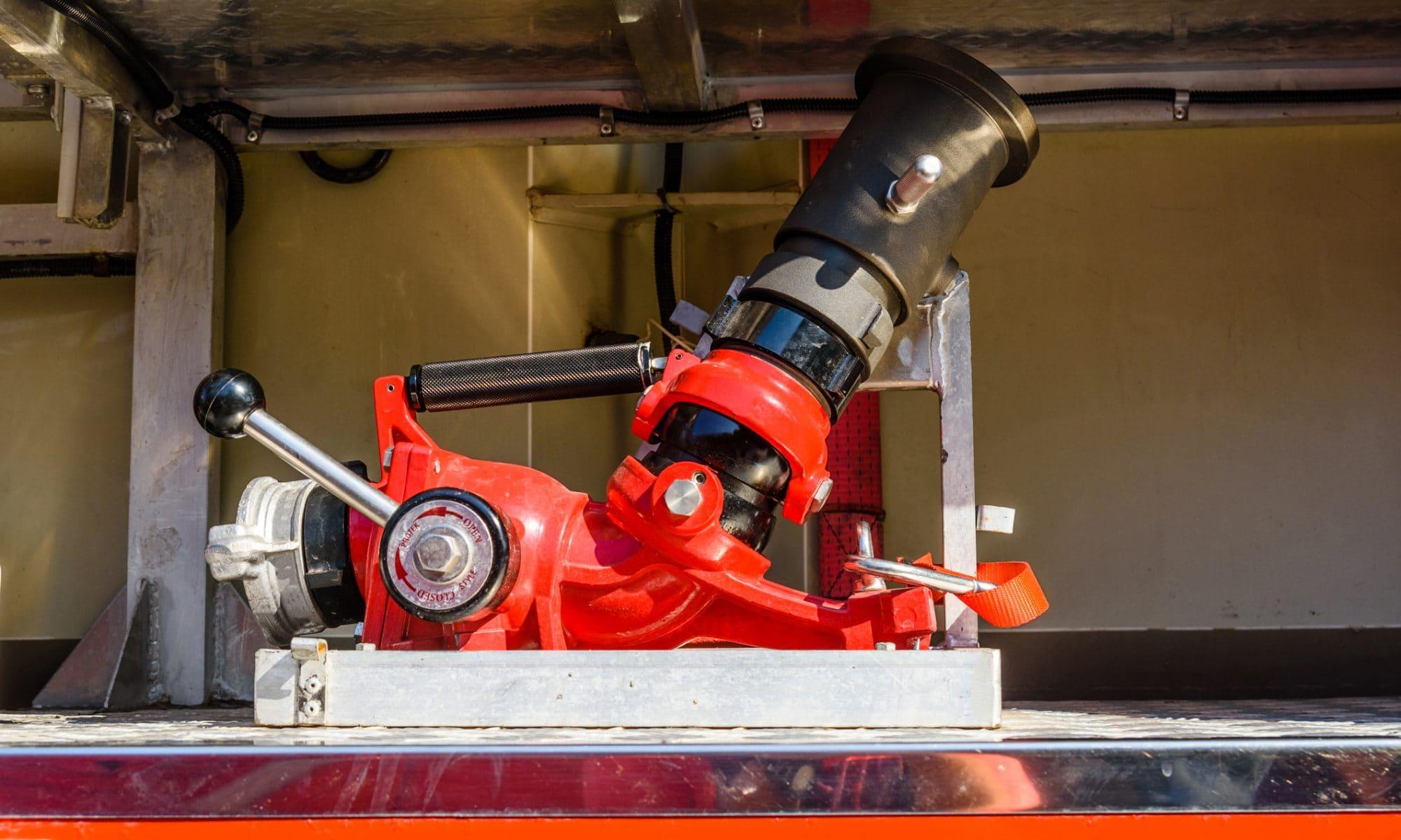 Prądownica hydrantowa