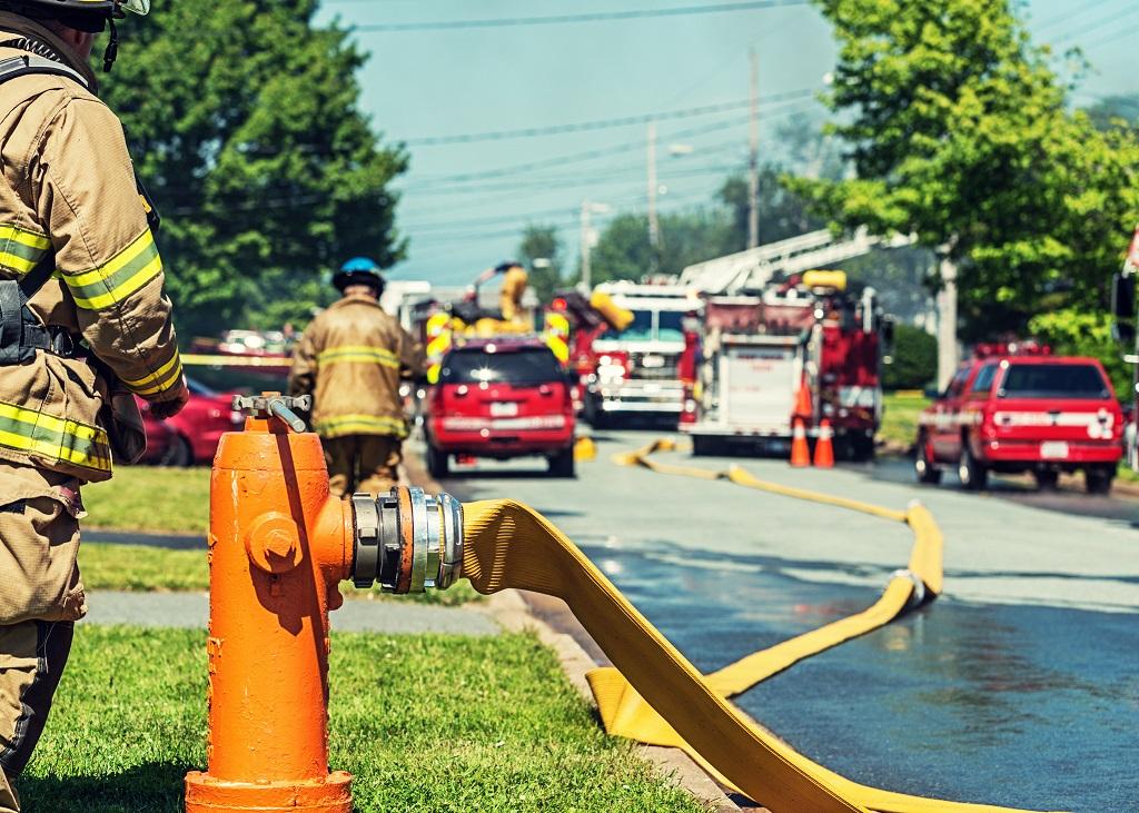 próba ciśnieniowa węża hydrantowego