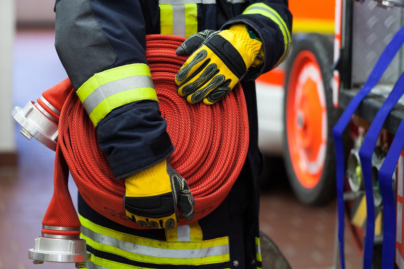 wąż strażacki